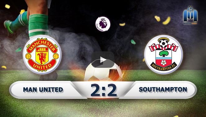 Manchester United 2-2 Southampton