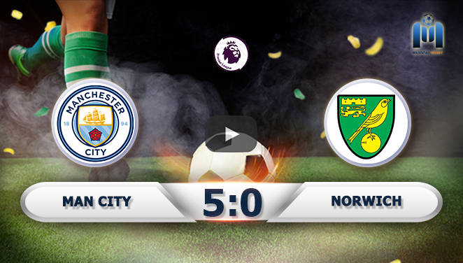 Manchester City 5-0 Norwich