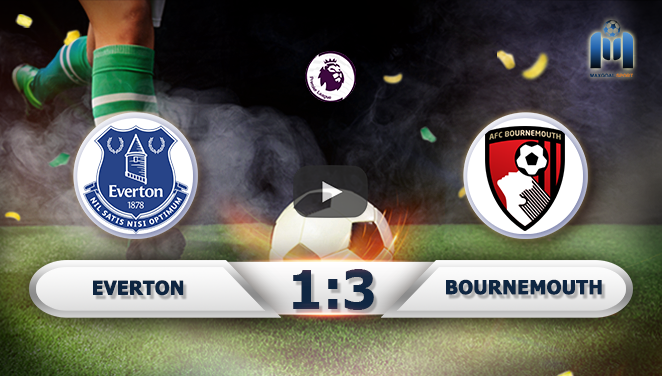 Everton 1-3 Bournemouth