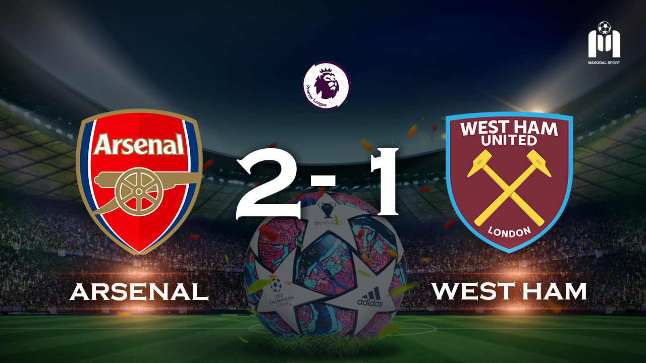 Arsenal 2-1 West Ham United