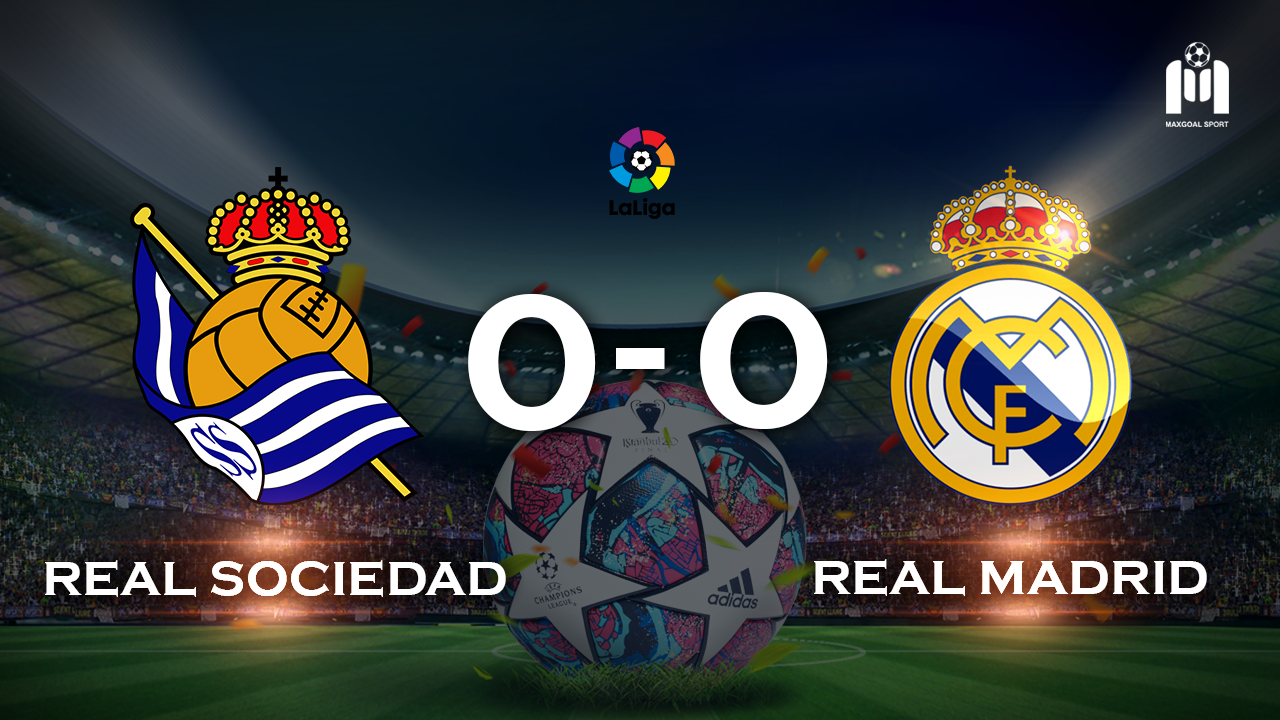 Real Sociedad 0-0 Real Madrid