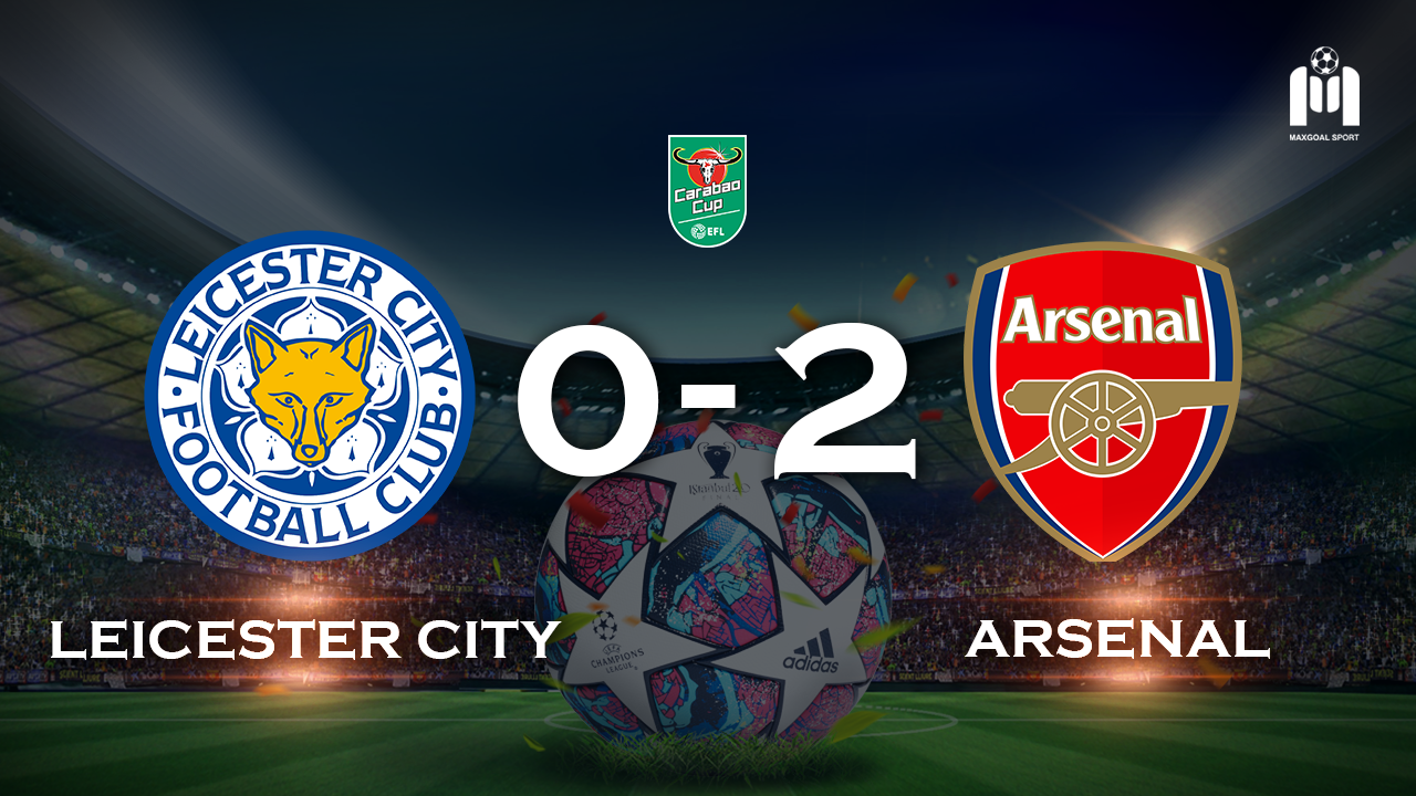 Leicester City 0-2 Arsenal