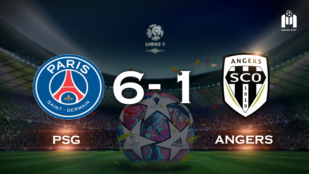 PSG 6-1 Angers