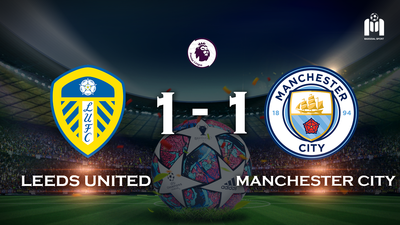 Leeds United 1-1 Manchester City