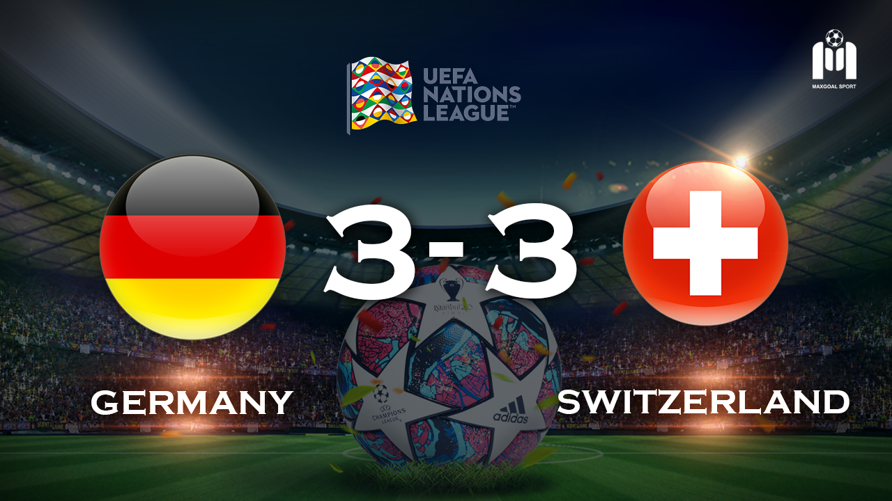 Germany 3-3 Switzerland