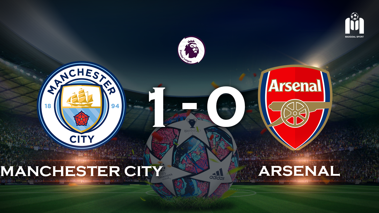 Manchester City 1-0 Arsenal
