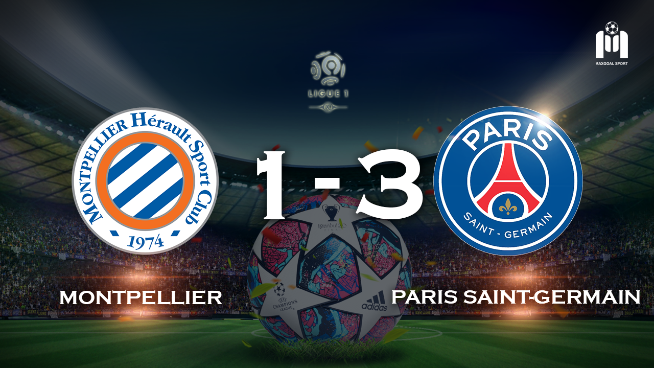 Montpellier 1-3 Paris Saint-Germain