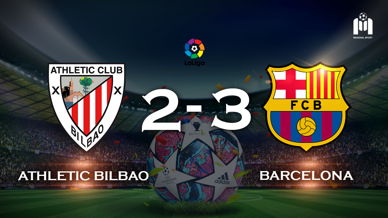 Athletic Bilbao 2-3 Barcelona