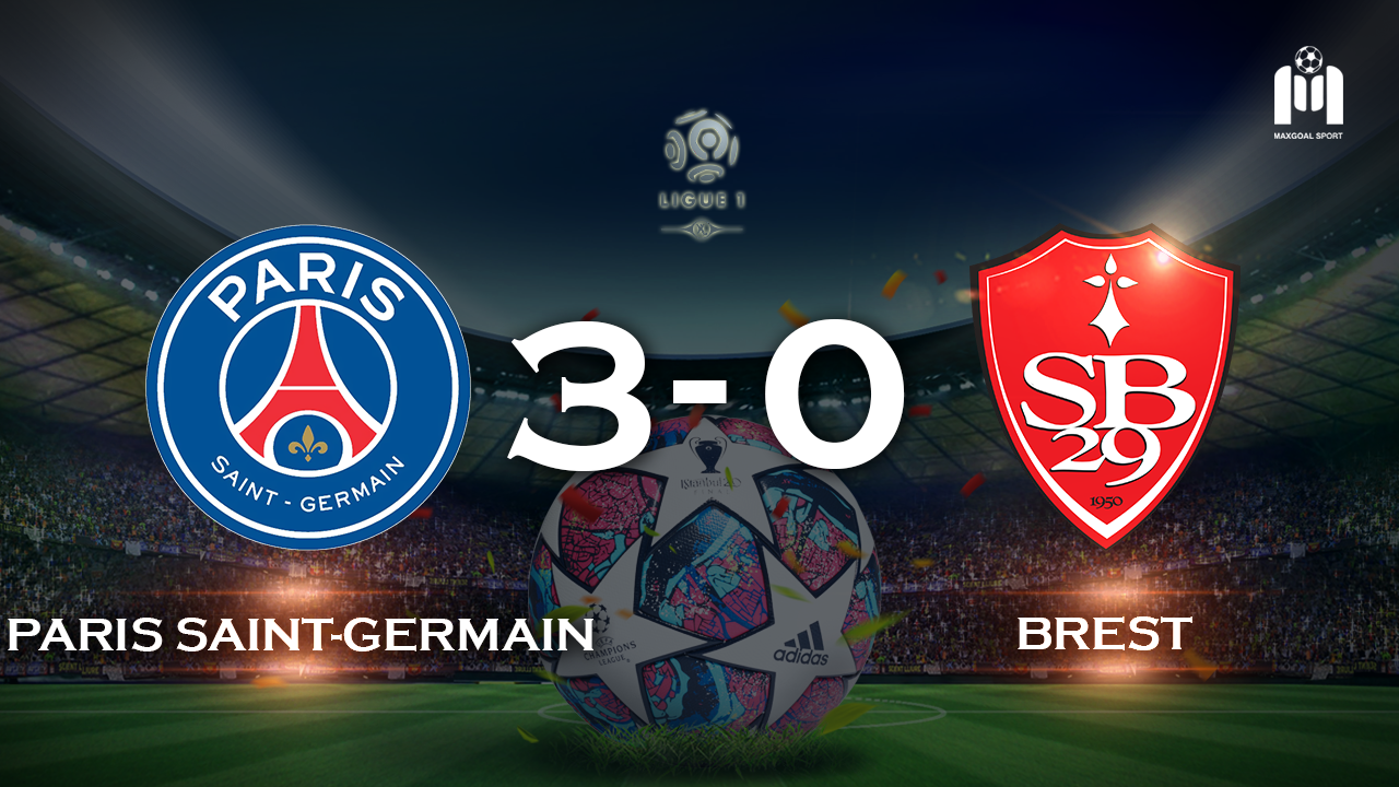 Paris Saint-Germain 3-0 Brest