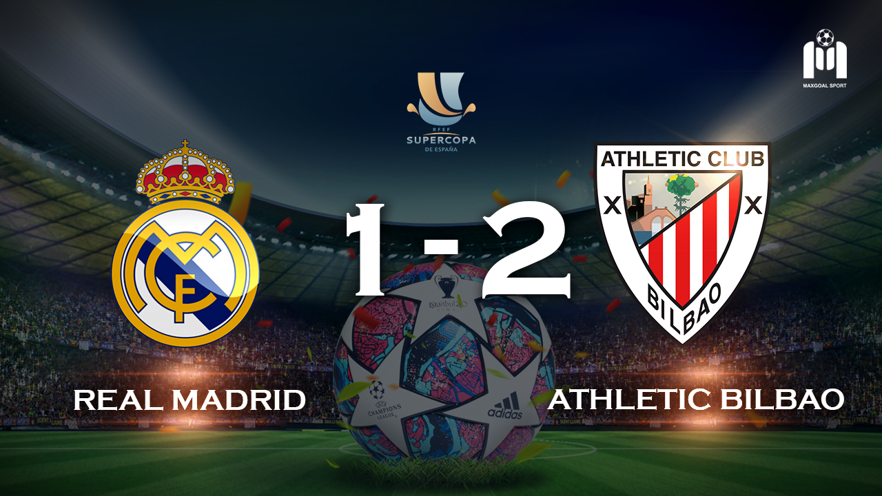 Real Madrid 1-2 Athletic Bilbao