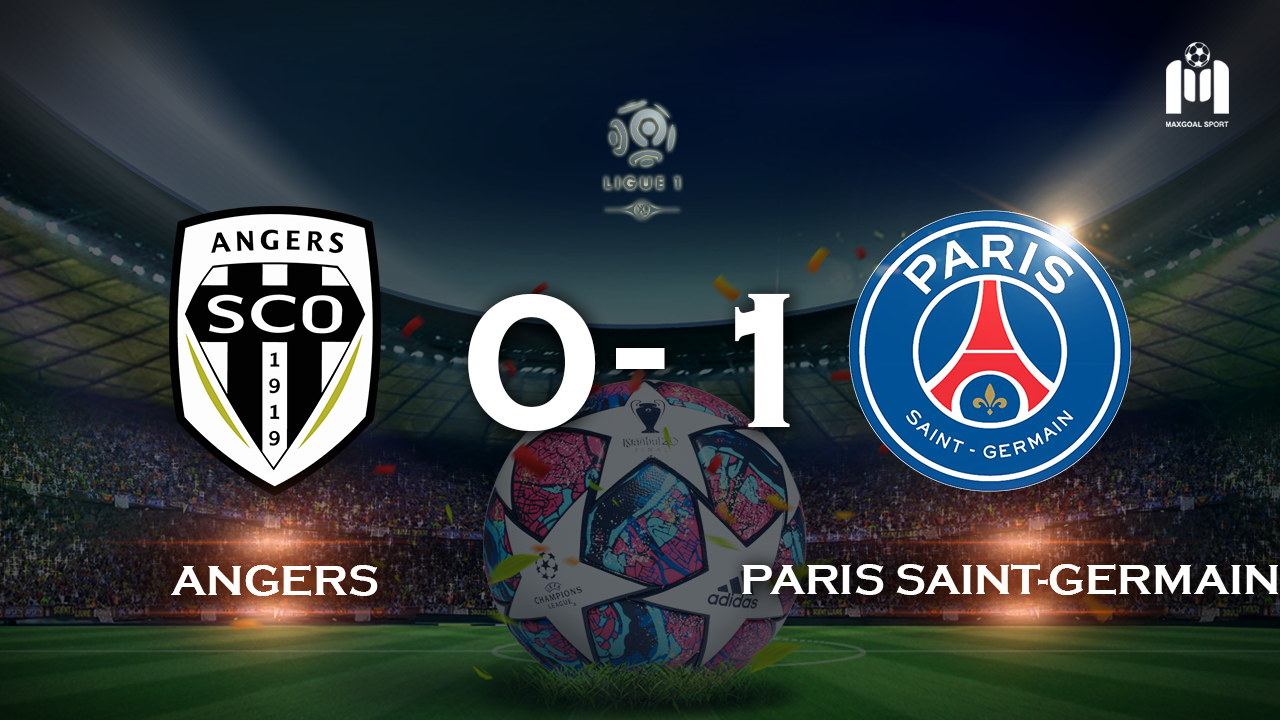 Angers 0-1 Paris Saint-Germain