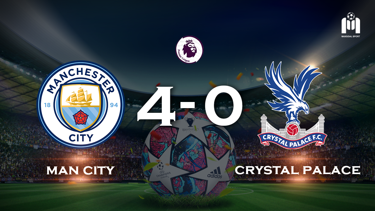 Manchester City 4-0 Crystal Palace