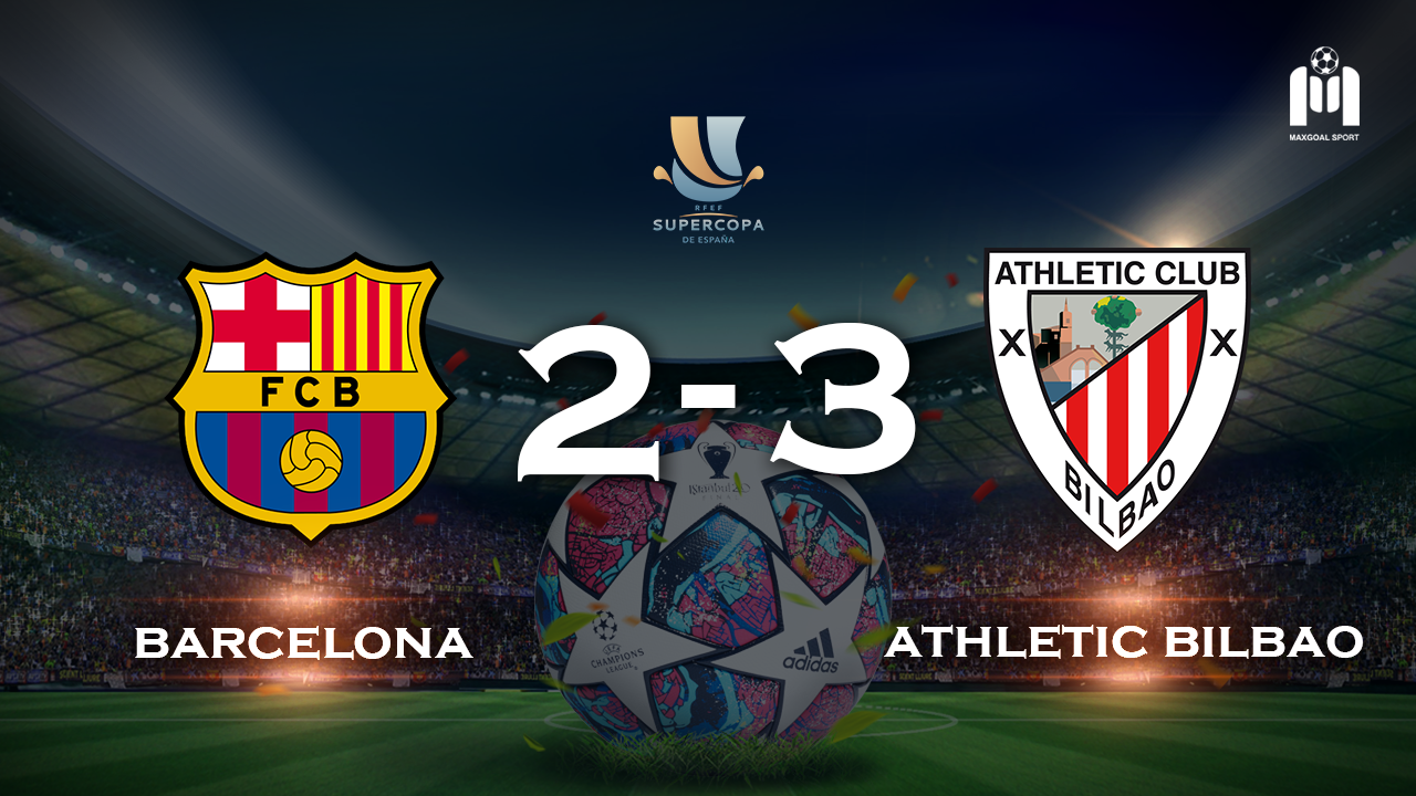Barcelona 2-3 Athletic Bilbao