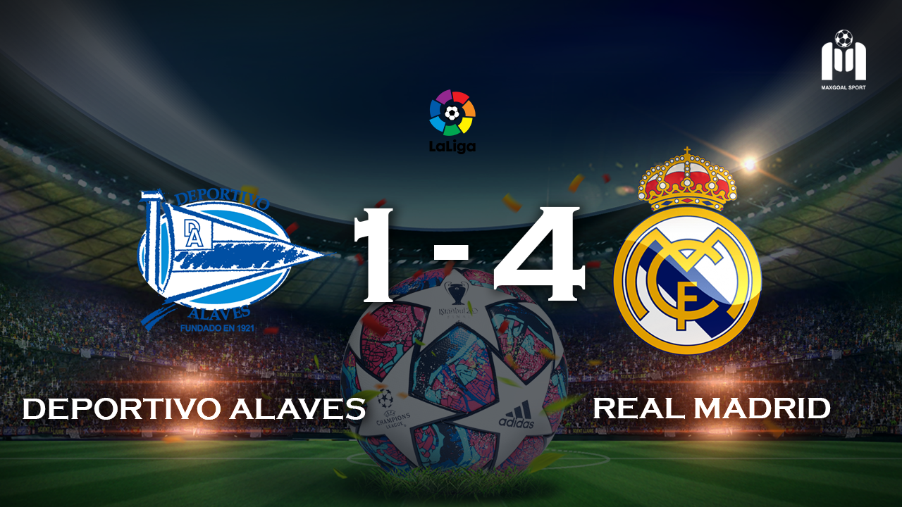 Alaves 1-4 Real Madrid
