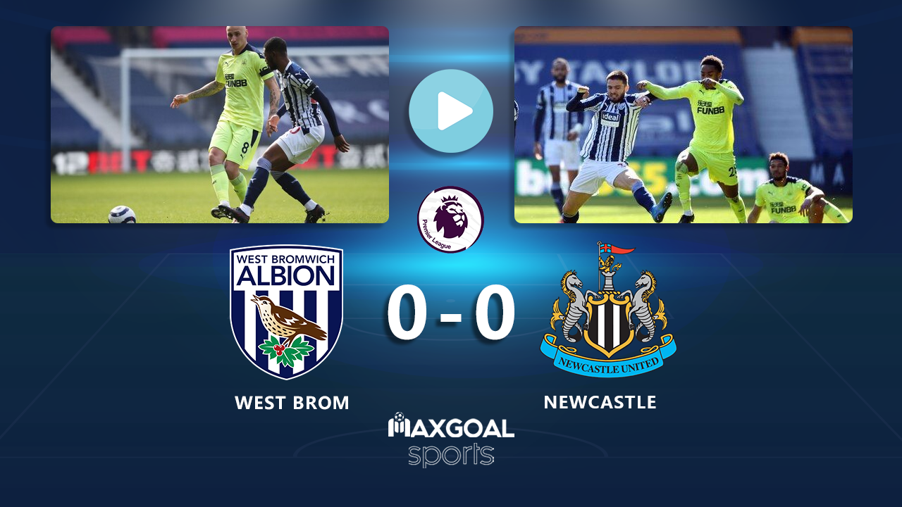 West Brom 0-0 Newcastle United